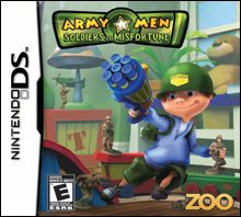 Army Men Soldiers of Misfortune Nintendo DS