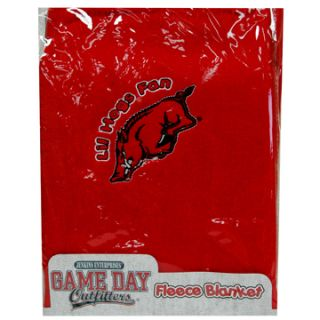 Arkansas Baby Receiving Blanket New Razorbacks Hogs