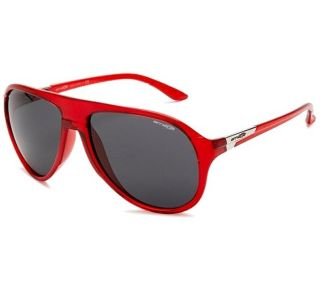 Arnette AN 4134 09 High Life Transparent Red Grey Aviator Retro Mens
