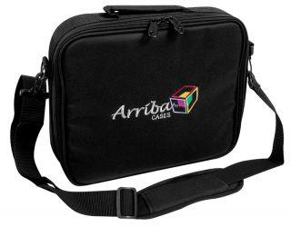 Arriba Al 56 Wireless Microphone Padded Travel Case New