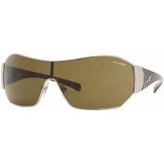 3eaccfdafc ... Arnette Chaser Unisex Sunglasses Gold Metal Frame New ...