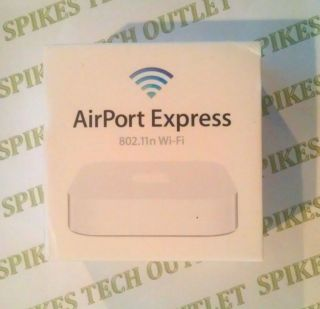 Apple AirPort Express 2 Port 10/100 Wireless N Router (MC414LL/A) Free