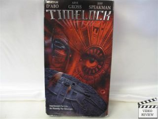 Timelock VHS Maryam DAbo Arye Gross Jeff Speakman