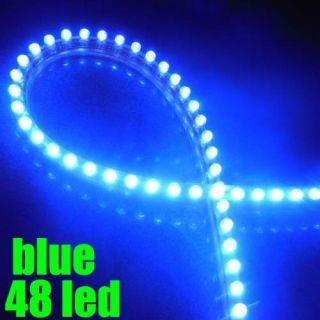 Blue Aquarium Fish Tank Light Lighting 48 LED Power