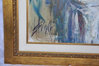 Henry Asencio Original Framed Oil Painting Large Art Beautiful Woman