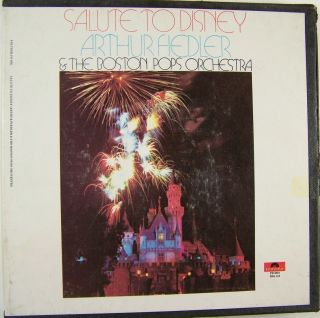 Arthur Fiedler Boston Pops A Salute to Disney Reel to Reel Tape 3 3 4