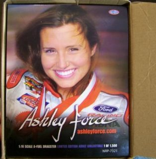 Nitro Plate Ashley Force 1 16 Dragster Toy Store Diecast NRP 7321 NHRA