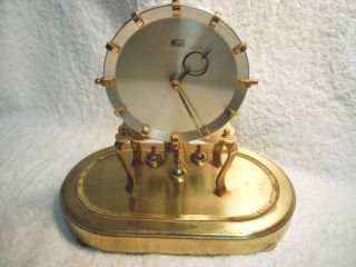 VINTAGE WELBY ANNIVERSARY 400 DAY CLOCK FOR PARTS