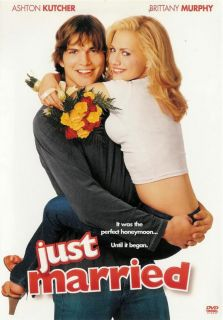 Just Married Brittany Murphy Ashton Kutcher DVD