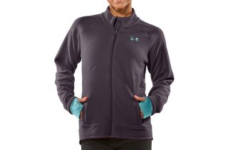 Womens Under Armour Hundo 2 0 Hybrid Fleece Full Zip Jacket