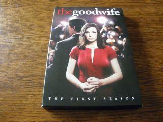 he Good Wife he Firs Season (DVD, 2010, 6 Disc Se)