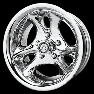 inch 15x7 Polished Ventura Wheels Rims Chevy GMC Truck Astro 5 Lug 5x5