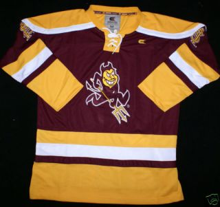 Arizona State Sun Devils Hockey Jersey by Colosseum XXL