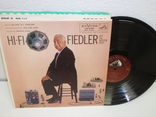 ARTHUR FIEDLER AND THE BOSTON POPS Hi Fi Fiedler LP RCA Victor LM 2100