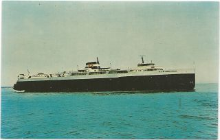 Great Lakes 1st Diesel Powered Car Ferry SS Arthur K Atkinson