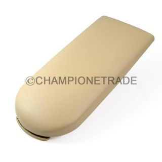Beige Center Console Armrest Cover Lid for VW Golf Jetta Bora 99 04