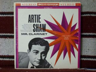 Artie Shaw Mr Clarinet 9755 VG Cond Great Mood Music Shaw at His Best
