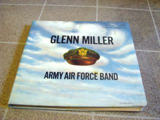 Glenn Miller Albums   ARMY AIR FORCE BAND 1955   5 RCA Victor Records