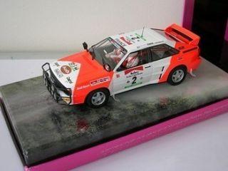 Fly Lady Racers Audi Quattro A2 Michele Mouton 1 32 Scale Slot Car 07