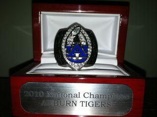 2010 Auburn Tigers BCS National Championship Replica Ring