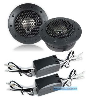 Audiobahn AT61J 100W RMS 75 19mm Silk Dome Car Audio Tweeters Speaker