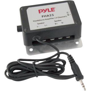 Amplifiers , 3.5mm / 1/8 2 Channel 300 Watt Stereo Audio Amplifier