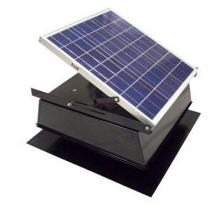 Rand Solar Powered Attic Fan 36 Watt w Roof Top Ventilator New