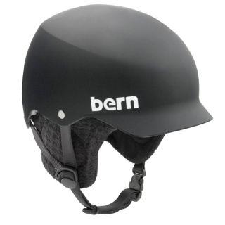 Bern Baker Hard Hat Snowboard Ski Skate Audio Helmet 2012 Matte Black