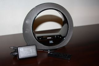 JBL Radial Micro iPod iPhone Audio Sound Speaker Dock with OEM Remote