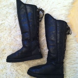 AUSTRALIA LUXE COLLECTIVE DITA Nordic Angel Snow BOOTS SUEDE LEATHER