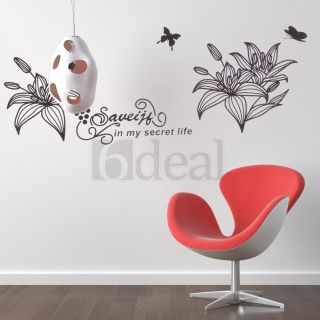 Decor Window Closet Bedroom Art Wall Paper Mural Sticker Decal