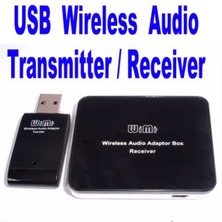 USB Wireless Audio Transmitter Receiver Adapter Hi Fi