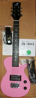 Austin Air J Reynolds Mini Electric Guitar Pink