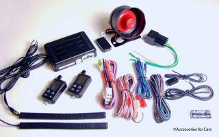 FM 2 WAY CAR ALARM REMOTE START KEYLESS ENTRY COMPLETE POWER DOOR LOCK