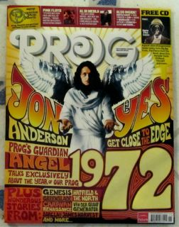Classic Rock Prog CD November 2012 Yes 1972 Close to Edge Genesis