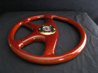 New 15 Custom Mahogany Wood Grain Steering Wheel