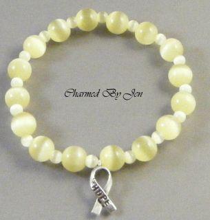 Suicide Awareness Artisan Bracelet w Hope Charm