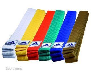 Adidas Martial Arts Belt Color Solid Size 300 cm Cotton Karate