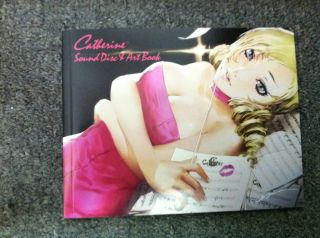 Atlus Catherine Sound Track Music CD and Art Book RARE
