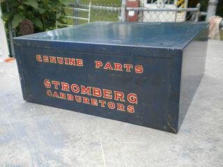 VTG SPEED SHoP StromberG Carburetor 97 AUTO Parts Display Cabinet HoT