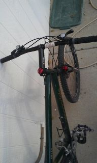 Jade Green Hardtail Mountain Bike with Suspension Fork Complete