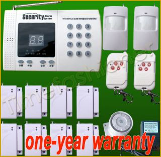 Wireless Home Security System House Alarm Auto Dialer