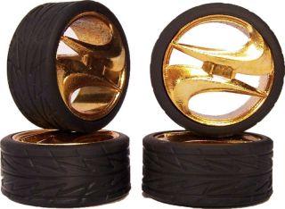 Model Car Rims 1 24 Slim 20s Wheels Tires Gold Alliance