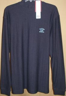 Cutter and Buck Tour Long Sleeve Atwell Mock Neck XL Navy Heather