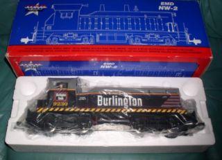 USA G Scale Burlington 9230 Electrical Train Engine