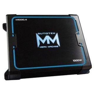 Autotek M10004 1000W 4 CH Car Audio Amplifier Amp 4 Channel M1000 4