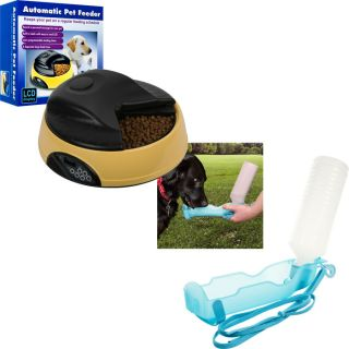 Paw™ 4 Meal Automatic Pet Feeder and Portable Water Dish