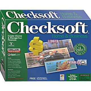 Avanquest Checksoft Home & Business 2007 Manage your finances