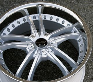 AVARUS AV3 20 SILVER RIMS WHEELS BMW X5 3.0 4.4