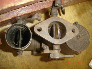 Vintage Brass Zenith Carburetor Auto Truck Tractor Antique Farm